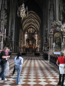 В соборе Св. Стефана